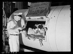 Sampling butter from churn in 1943