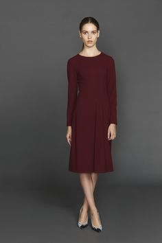 Beulah London 'Eria' Dress in Renaissance Red