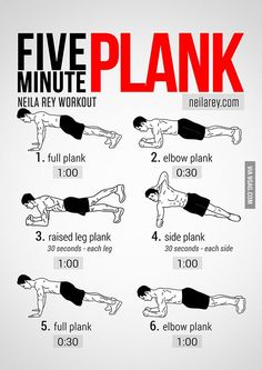 Easy way for a six pack! ( Plank )
