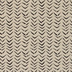 Strik jacquard natur m sort zigzag