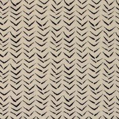 Knit jacquard nature w black zigzag