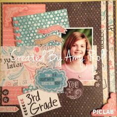 Layout created using the new CTMH Chalk It Up collection.