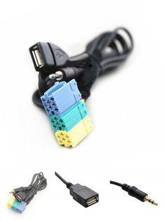 [Visit to Buy] Radio Extension AUX USB Cable Wiring For Hyundai Kia Sportage Akihabara #Advertisement