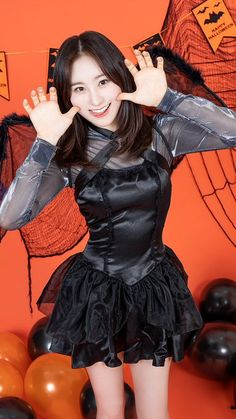 Eyes On Me, Programa Musical, Japanese Girl Group, 3 In One, Halloween, Yuri, Daughter, Kpop, Fashion Outfits