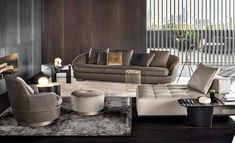 JACQUES SOFA - Designer Lounge sofas from Minotti ✓ all information ✓ high-resolution images ✓ CADs ✓ catalogues ✓ contact information ✓ find. Modern Furniture, Outdoor Furniture Sets, Furniture Design, Minotti Furniture, Nice Furniture, Minimalist House Design, Minimalist Home, Banquettes, Living Room Designs