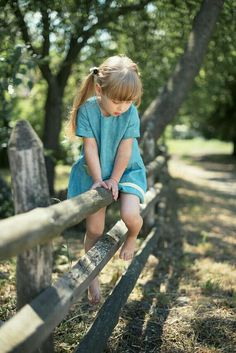 Linen and cotton clothes for kids by TsiomikKids Turquoise Cottage, Country Fences, Country Blue, Country Charm, Country Living, Twirl Skirt, Cute Poses, Handmade Dresses, Baby Feet