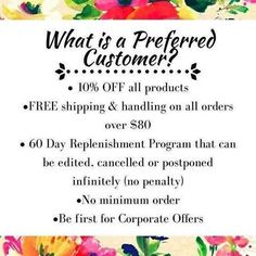 People often think that signing up as a Rodan + Fields Preferred Customer locks you in to reordering every 2 months. Not so. RODAN+FIELDS lets YOU control your Preferred Customer account!! You choose what you order and when you order it. And it usually pays for itself with your first order! And, as always, I'm here to help and answer any questions.