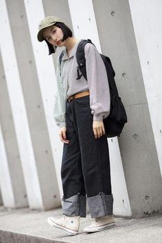 New trends and outfits for 2019 Asian Street Style, Tokyo Street Style, Japanese Street Fashion, Tokyo Fashion, Harajuku Fashion, 90s Fashion, Hijab Fashion, Korean Fashion, Girl Fashion