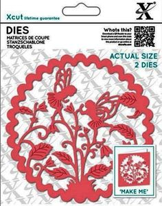 Docrafts Xcut Dies - Floral Fairies - Crafts, Die Cutting, Cross Stitch Kits, Embossing Folders, Stamps, Jigsaw Puzzles and more!