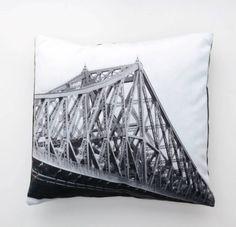 Jacques Cartier Bridge Cushion