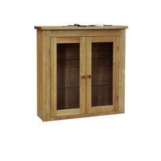 Contemporary Solid Oak QPSBT2 2 Door Sideboard Top  www.easyfurn.co.uk Solid Oak, China Cabinet, Sideboard, Bathroom Medicine Cabinet, Doors, Contemporary, Storage, Wall, Furniture