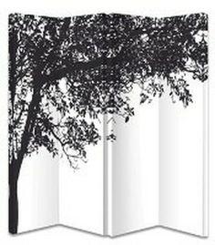 Trees 4 Panel Screen - The Original Screen Company