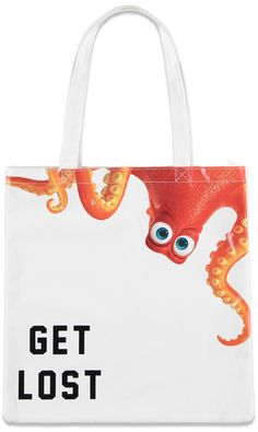 The Disney•Pixar Forever 21 Collection is Here! | fashion collection inspired by Finding Dory, Toy Story and Monsters Inc. | Hank tote bag | [ http://di.sn/6002B4mAp ]
