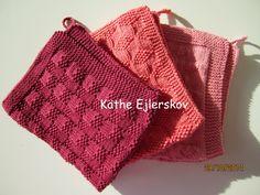 Grydelapper og håndklæder. Dagbog 2015. strikkede køkkenhåndklæder i dejlige varme farver er strikkeopskrift nr. 5 køkkenhåndklæder med kærlighed