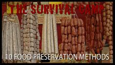 Food Preservation Methods - 17 Basic Wilderness Survival Skills Everyone Should Know