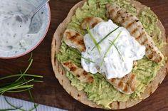 5 or less: romige wraps met kip en avocado | Chickslovefood.com | Bloglovin'
