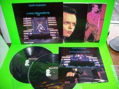 Gary Numan – Living Ornaments '79 And '80 CANADA Double Vinyl LP Gate-Fold Rare #Electronica #GaryNuman #SynthPop