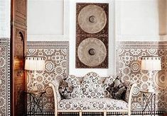 (1) royal mansour bathrooms - Bing images Marrakesh, Moroccan Style, Luxury Travel, Morocco, Tapestry, In This Moment, Bathrooms, Architecture, Inspiration