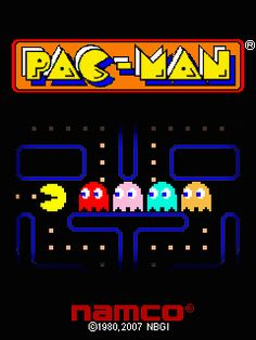 Growing up we had the Pac-Man and Mrs. Pac-Man arcade games in our garage. :)