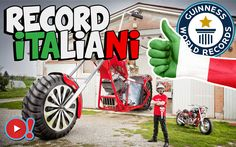 5 Guinness World Records pazzeschi vinti dall'Italia! Ciao a tutti! Iniziamo questo meritatissimo weekend con un video che solletica la nostra galoppante curiosità. Vi piacciono i record mondiali? Siete appassionati dei Guinness World Records? Se avete  #record #italia #guinnessdeiprimati #video