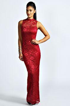 Superb maxi dress in lace