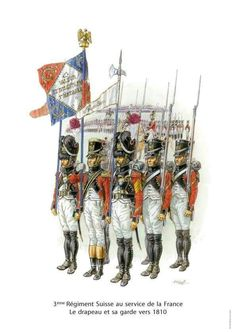 Swiss; 3rd Line Infantry. The Eagle and its Guard, 1810