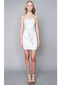 Best Lace Short Strapless Column Sleeveless Cocktail Dresses - Wedding Dresses