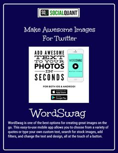 Make Awesome Images For Twitter