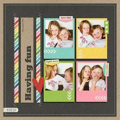 4 photos + frame
