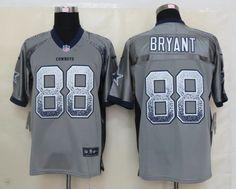 Men's NFL Dallas Cowboys #88 Bryant 2013 Drift Fashion