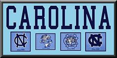 North Carolina Team Wool Blend Fabric Logos Throughout The Years With Team Name & Team Color Double Matting-Awesome & Beautiful Large Picture-Most College Team Banners Available-Plz Go Through Description & Mention In Gift Message If Need A different Team Art and More, Davenport, IA http://www.amazon.com/dp/B00LL8J3OE/ref=cm_sw_r_pi_dp_m7hDub1F130HF