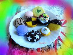Ready Birthday Christmas Gift Felt Cookies Felt Food by decocarin