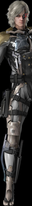 Metal Gear - Raiden Render