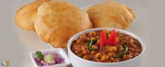 Rs.40 for Channa Bhatura Plate worth Rs.80.