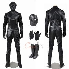 Item Number:dcthf013, zoom Costume The Flash Season 3 Cosplay Hunter Zolomon Full Set online sale! Buy great D-C and Mar-vel costumes for Halloween.