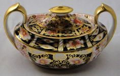 Royal Crown Derby Traditional Imari Sugar Bowl & Lid Royal Crown Derby, COLLECTIBLE DISHWARE AND GLASS to buy just click on amazon here http://www.amazon.com/dp/B00B90PJ4M/ref=cm_sw_r_pi_dp_bZousb1G1K52NARX