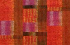 polly barton diablo silk double ikat