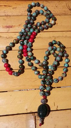 African Turquoise Mala  Dyed Red Coral  Red Coral  Sterling Red Coral, Turquoise, Beaded Necklace, African, Jewellery, Trending Outfits, Unique Jewelry, Handmade Gifts, Etsy