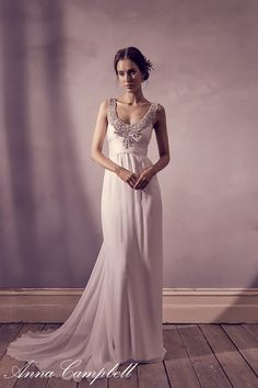 Anna Campbell Amity gown - Sell My Wedding Dress Online Sell My Wedding Dress, Second Hand Wedding Dresses, Wedding Dresses For Sale, Bridal Dresses, Gown Wedding, Black Prom Dresses, Beautiful Prom Dresses, Robes D'inspiration Vintage, Dress Vintage