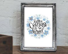 Have Courage and be Kind Cinderella Canvas by PaintItBetter