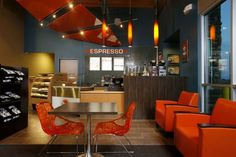 Legacy Landing Convenience Store Interior - Coffee Bar - Interior Design Idea in Spokane WA
