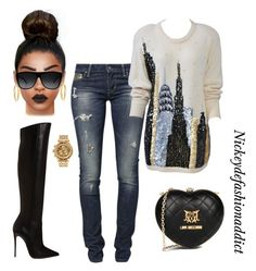 **Please Tap the Picture for Outfit Details*** – Women Fashion Diva Fashion, Cute Fashion, Look Fashion, Womens Fashion, Fashion Stylist, Swag Fashion, Fashion Pants, Cute Casual Outfits, Casual Chic