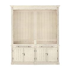 Athens Modular TV Unit In French White
