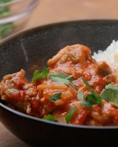 Spicy Tomato Coconut Chicken                                                                                                                                                                                                                                                                                                                  724 Repins                                                                                                             30 Likes…