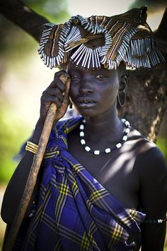 Mursi woman - Ethiopia | Flickr - Photo Sharing!