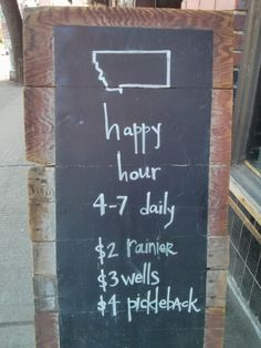 Where the bartenders go.