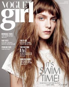 Covers of Vogue Girl Korea with Gracie van Gastel, 958 2013   Magazines   The FMD #lovefmd