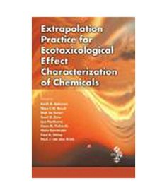 A wide-ranging compilation of techniques, #ExtrapolationPracticeforEcotoxicologicalEffectCharacterizationofChemicals describes methods of extrapolation in the framework of ecological risk assessment.