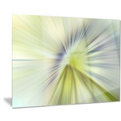 Designart 'Rays of Speed Purple' Abstract Digital Metal Wall Art
