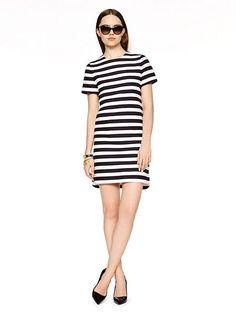 yarn dyed stripe shift dress - kate spade new york